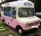 Annesley's 1970s Bedford ice cream van