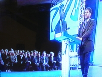 Annesley speaking on the economy at the 2004 Conservative Party Conference