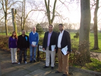 Annesley campaigning in the Dollis Hill By-election in Brent