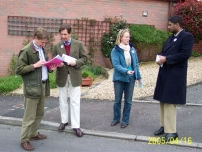 Campaigning in West Dorset for Oliver Letwin in 2005