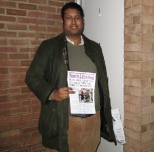 Annesley campaigning for the Croydon North by-election and supporting Andrew Stranack, the Conservative candidate - November 2012.