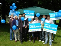 The Conservative stall at the Hazel Grove Carnival 2008