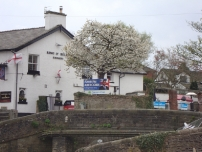 A pub in Marple strongly supported Annesley and kindly put up several large posters