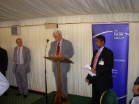At the Bow Group Summer Reception – 2009. The Rt Hon Lord Geoffrey Howe QC speaking.