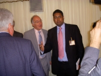 With The Rt Hon The Lord Michael Howard QC, (Former Bow Group Chairman)