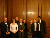 Annesley with some members of the North West Branch of the Bow Group after addressing their dinner in September 2009