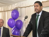 Annesley speaking at the Bow Group Summer Reception 2010