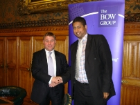 Annesley with Mark Francois MP