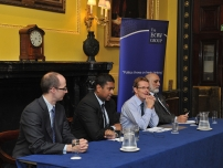 Annesley chairing a discussion on Employee Ownership with special guest – Andy Street, Managing Director of John Lewis plc