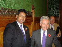 Annesley with Alan Duncan MP