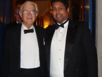 Annesley with The Rt Hon Lord Kenneth Baker -  Former Secretary of State for Education and Conservative Party Chairman