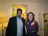 Annesley with Baroness Berridge of The Vale of Catmose