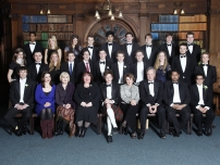 Annesley was invited to be a speaker in a debate at the Oxford Union on the subject of all women shortlists in January 2010. Here he is pictured with fellow speakers and the committee of the Oxford University Union before the debate.